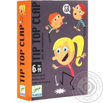 Гра настільна дитяча арт.DJ05120 -  DJECO  Тіп Тор Хлоп