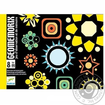 Іграшка DJECO GeomemorixDJ05182
