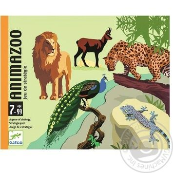 Гра DJECO Зоопарк DJ05188