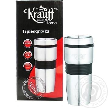 Термокружка Krauff 450мл - купити, ціни на МегаМаркет - фото 1