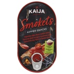 Оселедець Kaija філе копчене в томатному соусі 170г
