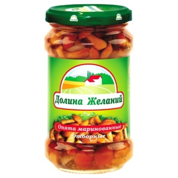 Dolyna Bazhan Marinated Mushrooms - buy, prices for Novus - image 1