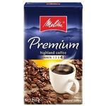 Кофе Melitta Premium молотый жареный 250г