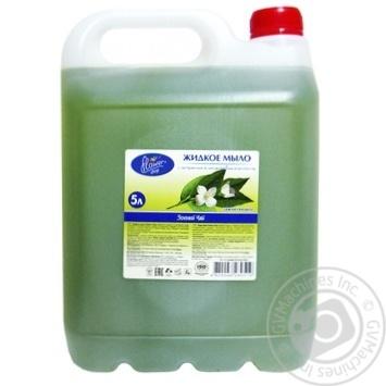 Мило рідке Флауер шоп зелений чай 5л - купити, ціни на Novus - фото 1
