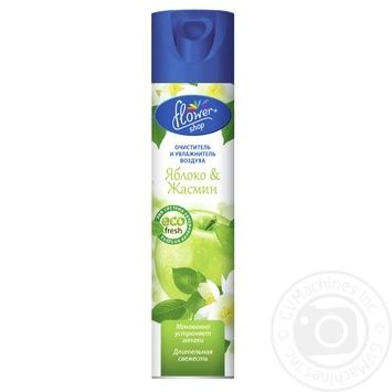 Flower Shop Air Freshener Apple and Jasmine 300ml - buy, prices for Furshet - image 1