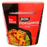 Локшина Katana рисова з креветкою в соусі пад тай 245г