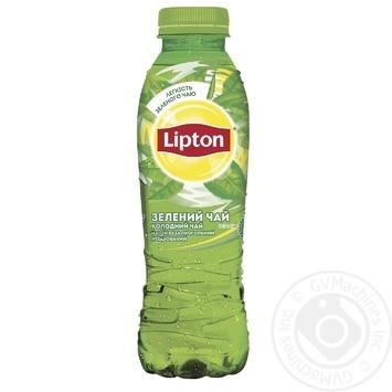 Холодный зеленый чай Lipton 0,5л - купить, цены на Novus - фото 2