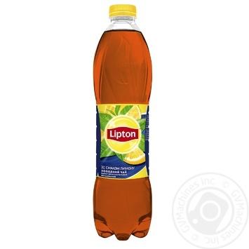 Чай чорний холодний Lipton зі смаком лимону 1,5л - купити, ціни на Восторг - фото 1