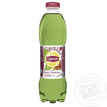 Чай зеленый холодный Lipton Земляника и клюква 1л - купить, цены на Восторг - фото 1