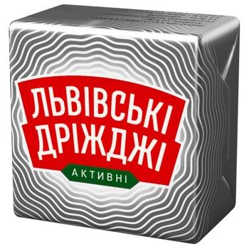 Дрожжи Львовские Дрожжи прессованные 42г