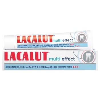 Зубная паста Lacalut Multi-Effect 75мл