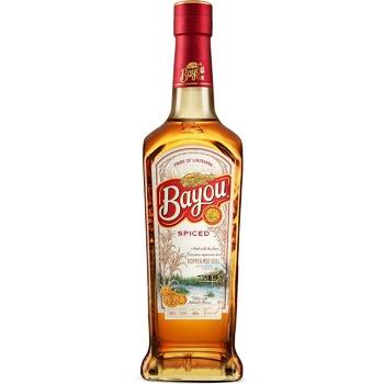 Ром Bayou Spiced 40% 0,7л - купить, цены на Novus - фото 1