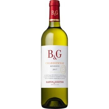 Вино Barton & Guestier Шардоне Резерв белое сухое 13% 0,75л