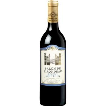 Baron de Lirodeau Red Semisweet Wine