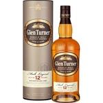 Glen Turner 12 yrs whisky 40% 0,7l
