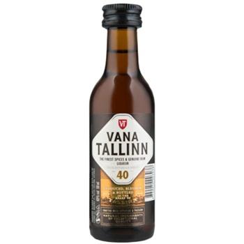 Ликер Vana Tallin Original 40% 0,05л