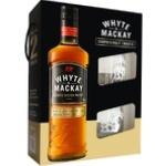 White&Mackay Whiskey 40% 0.7l + 2 Glasses in box