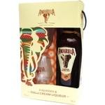 Ликер Amarula Cream&Marula Fruit 17% 0,7л + 2 бокала в коробке