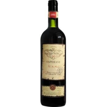 Вино Casa Veche Saperavi красное сухое 11-13% 0,75л