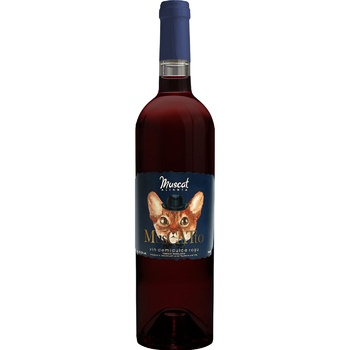 Alianta Vin MusCATto Muscat Red Semi-Sweet Wine 10-12% 0,75l - buy, prices for MegaMarket - image 1