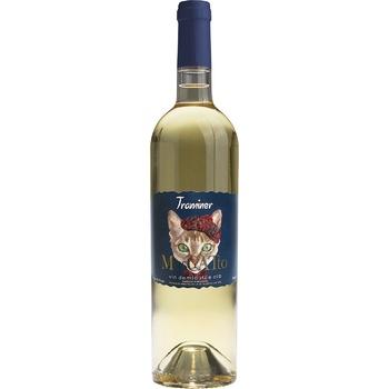 Вино Alianta Vin Muscatto Traminer белое полусладкое 10,5% 0,75л