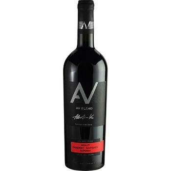 Вино AV blend Merlot-Cabernet Sauvignon-Saperavi красное сухое 13% 0,75л