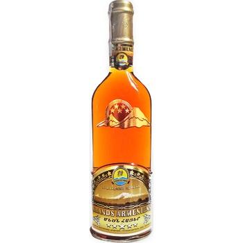 Grands Armeniens 5 Stars Cognac 40% 0,5l - buy, prices for Novus - image 1