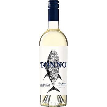 Вино Mare Magnum Cataratto Chardonnay Organic Tonno белое сухое 14.5% 0.75л