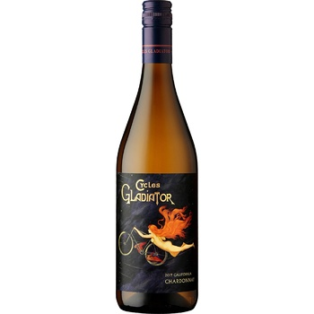 Вино Cycles Gladiator California Chardonnay біле сухе 13,5% 0,75л - купити, ціни на МегаМаркет - фото 1