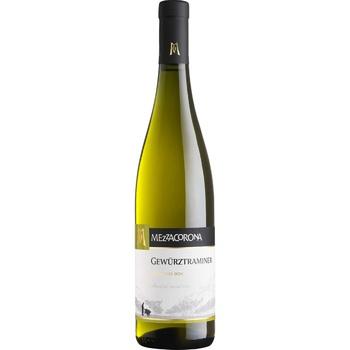 Вино Mezzacorona Gewurztraminer белое полусухое 13% 0,75л