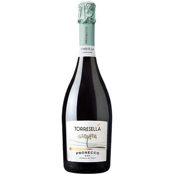 Вино ігристе Toresella Prosecco Extra Dry Treviso DOC біле сухе 11% 0,75л - купити, ціни на МегаМаркет - фото 1