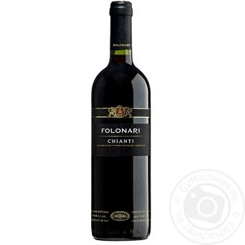 Вино Folonari Chianti красное сухое 13% 0,75л