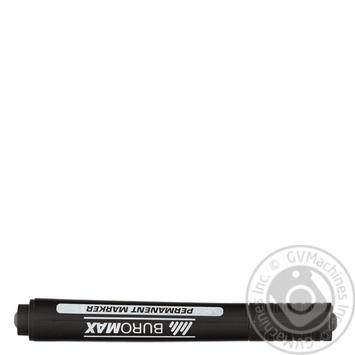 Маркер Buromax водостойкий черный - купить, цены на Ашан - фото 4