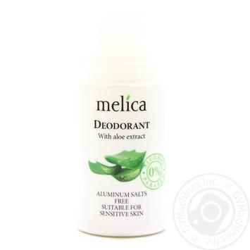 Дезодорант Melica с экстрактом алоэ 50мл - купить, цены на Novus - фото 1