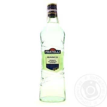 Вермут Fratelli Bianco белый полусладкий 16% 0,5л