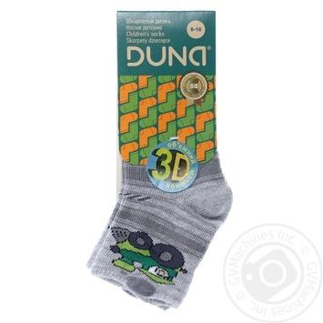 Шкарпетки дитячі демісезонні Дюна Арт.400 р.8-10 св.сірий