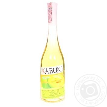 Wine with plums white 8% 750ml glass bottle Ukraine