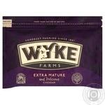Cheese cheddar Wyke farms hard 200g