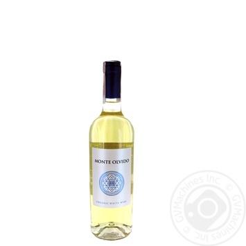 Monte Olvido Organic white wine 11% 0.75l - buy, prices for Auchan - image 1