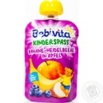 Пюре Bebivita банан-черника-яблоко 90г