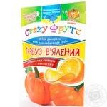 Гарбуз в'ялений з натуральним смаком апельсину Golden kings of Ukraine 100г