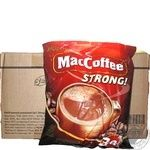Beverage Maccoffee with coffee 16g stick sachet