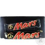 Батончик Mars c нугой и карамелью 70г