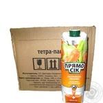 Juice Pryamo sik apple-carrot