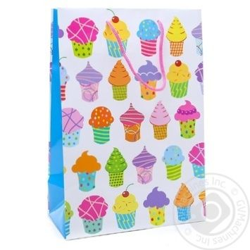Gift Package 26х32cm in Assortment - buy, prices for Auchan - photo 2