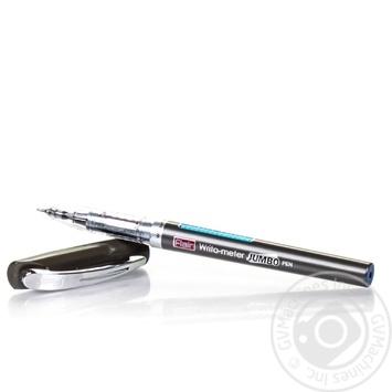 Ручка Jumbo шариковая синяя - купить, цены на Ашан - фото 4