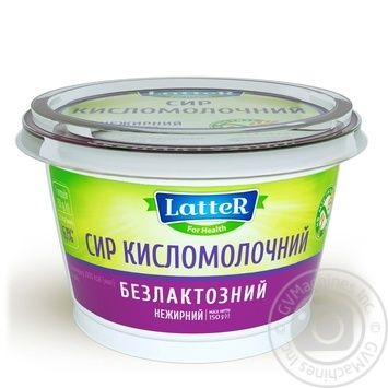 LatteR Lactose-free Cottage Cheese 150g - buy, prices for Novus - image 2