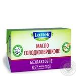Масло LatteR сладкосливочное безлактозное 82.5% 200г - купить, цены на Ашан - фото 2