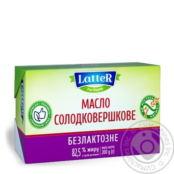 Latter Lactose Free Butter 200g - buy, prices for Novus - image 2