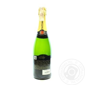 Taittinger Brut Reserve white dry champagne 12.5% 0,75l - buy, prices for CityMarket - photo 2